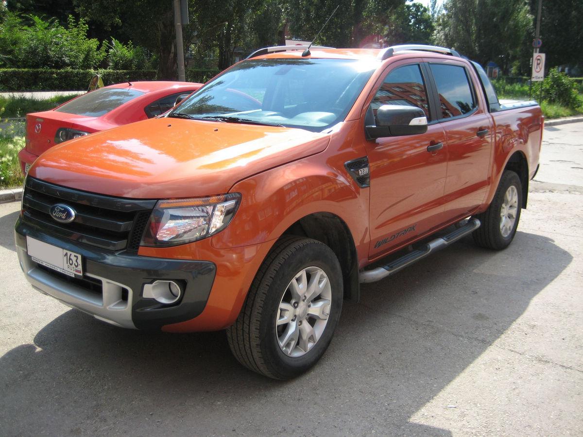 Автомобиль Ford Ranger 2012 года