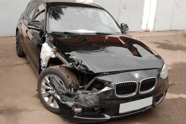 Авто до восстановления кузова