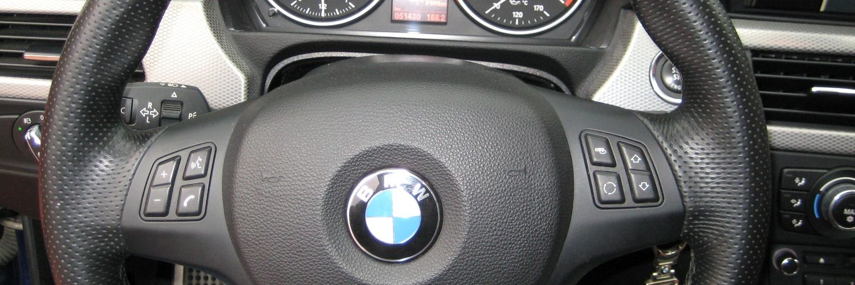 Руль автомобиля BMW 3 2010 года